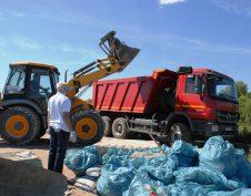 вывоз бытового мусора мешками