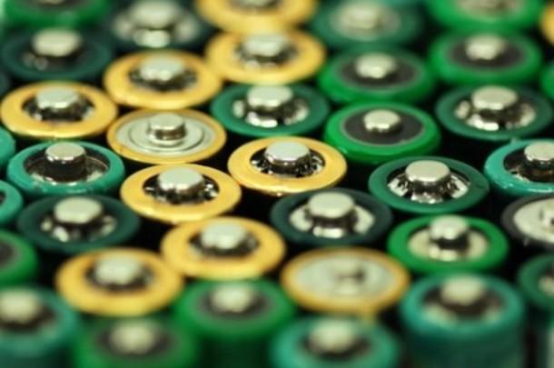 выброс батареек