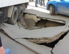 Грунт рухнул у дома Политехнического музея
